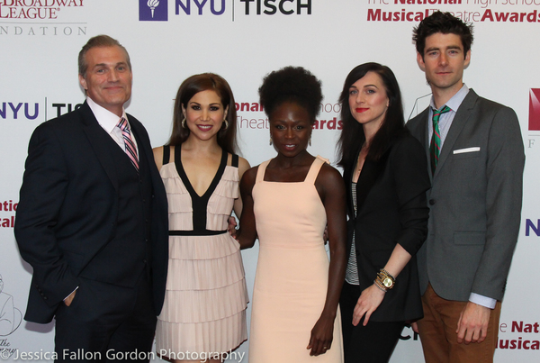 Marc Kudisch, Bianca Marroquin, Zainab Jah, Lena Hall and Drew Gehling