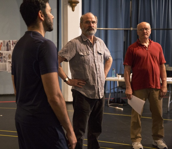 Sanjit De Silva, Daniel Sullivan, Edward James Hyland  Photo