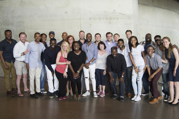 The company of BORN FOR THIS: The BeBe Winans Story at Arena Stage