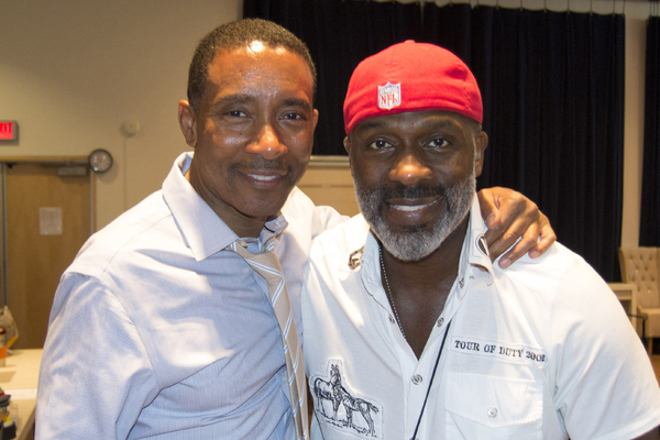 Charles Randolph-Wright and BeBe Winans