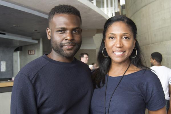 Juan Winans and Nita Whitaker
