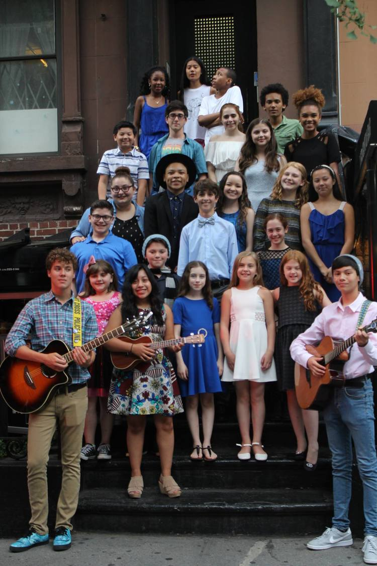 High Res The cast of Broadway Kids for Orlando: All You Need Is Love