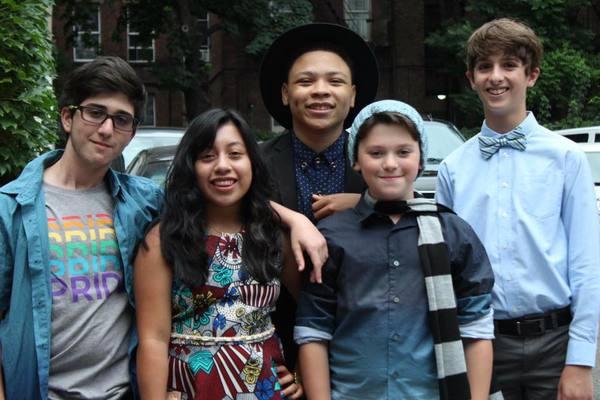 Zachary Brod, Jenna Iacono, Marquise Neal, Maddox Elliott, and Tyler Altomari