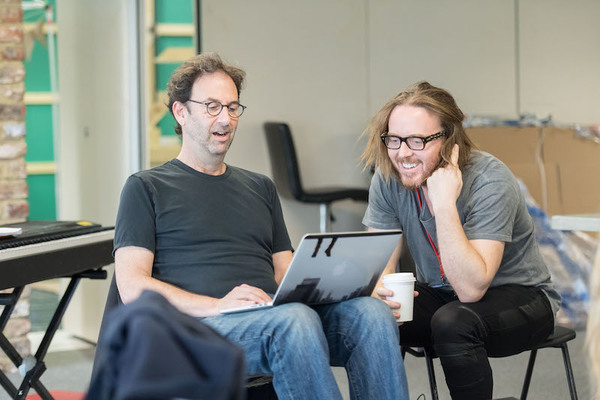 Danny Rubin and Tim Minchin