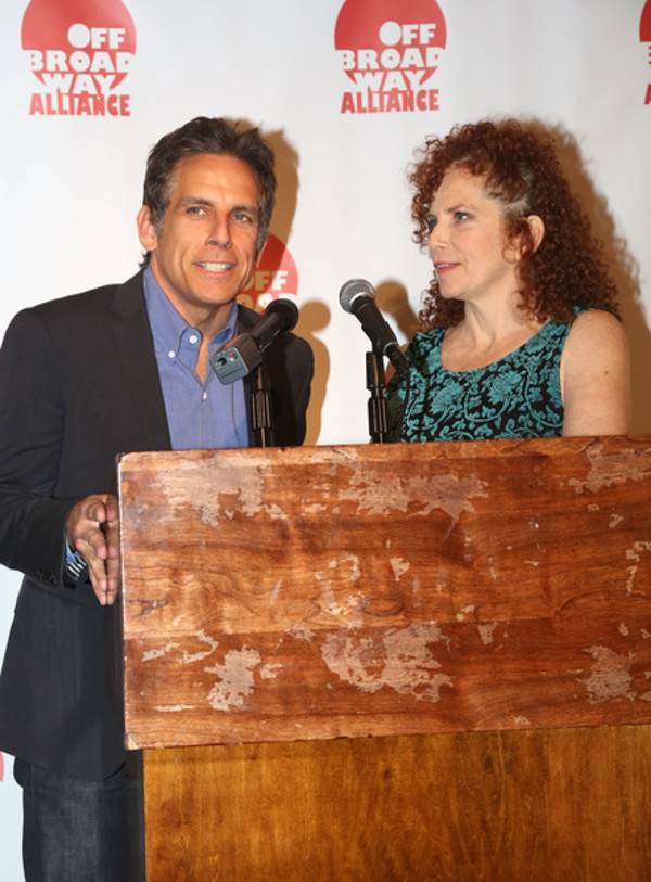 Photo Flash: Ben Stiller, Lois Smith, Alex Timbers and More Attend 2016 OBA Awards