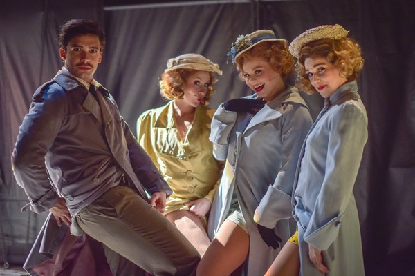 Mike Millan, Abby Church, Sarah Quinn Taylor and Eliza Ohman Photo