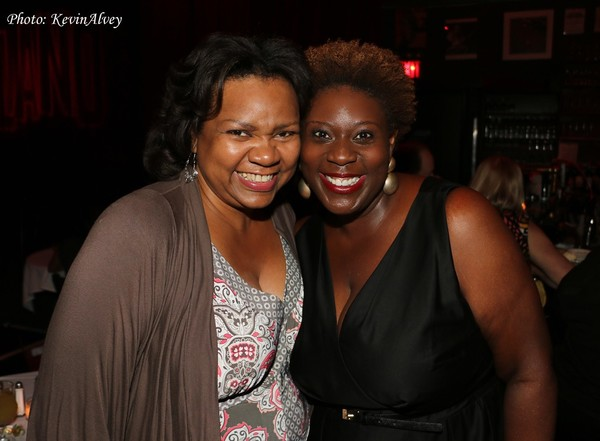 Aisha de Haas and Capathia Jenkins