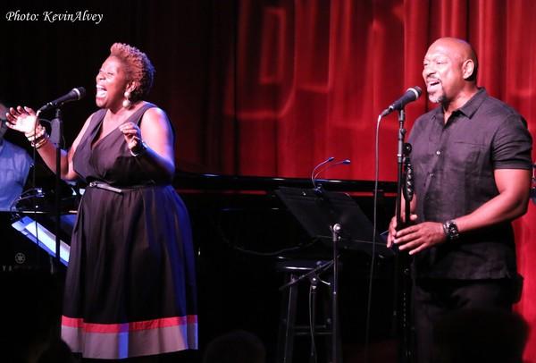 Capathia Jenkins and Alton Fitzgerald White