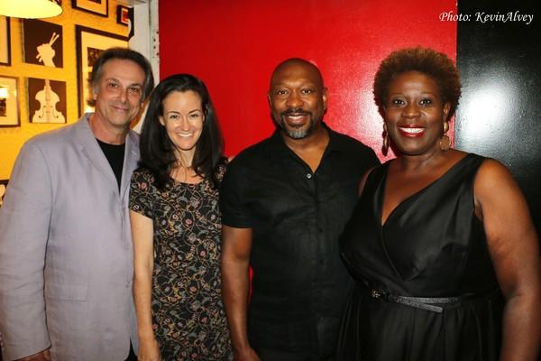 Louis Rosen, Kimberly Grigsby, Alton Fitzgerald White and Capathia Jenkins