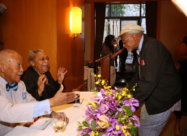 David Dinkins, Novella Nelson and Melvin Van Peebles