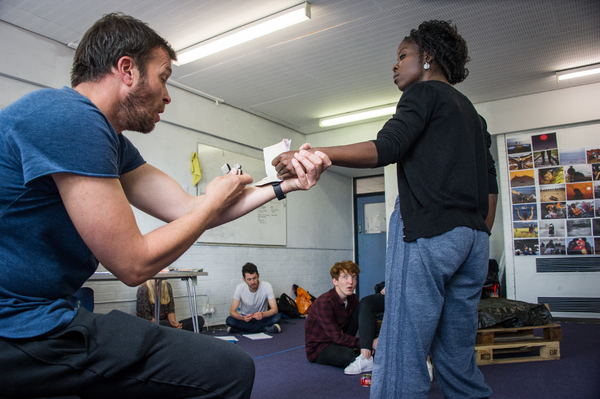 Photos: In Rehearsal for Tess Berry-Hart's CARGO at the Arcola Theatre