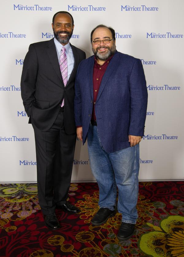 Nathaniel Stampley and Richard Ruiz Photo