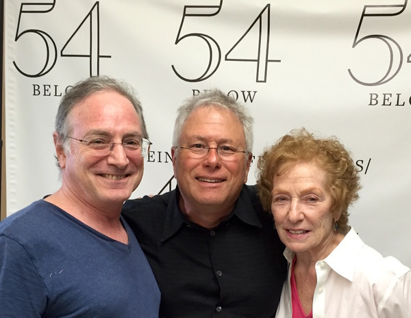 Robby Merkin, Alan Menken, Edie Cowan Photo