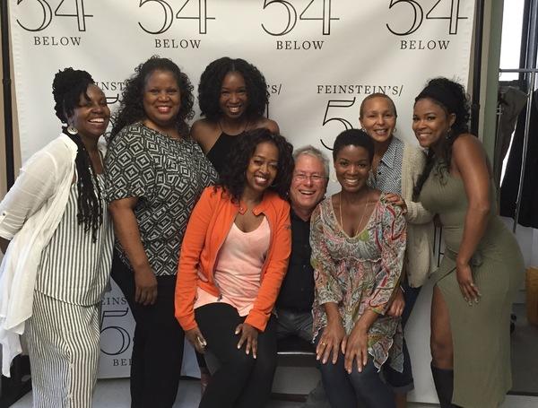 DeBorah Sharpe-Taylor, Sheila Kay Davis, Carla Hargrove, Jennifer Leigh Warren, Alan Menken, Trisha Jeffrey, Nikki Rene and DeQuina Moore