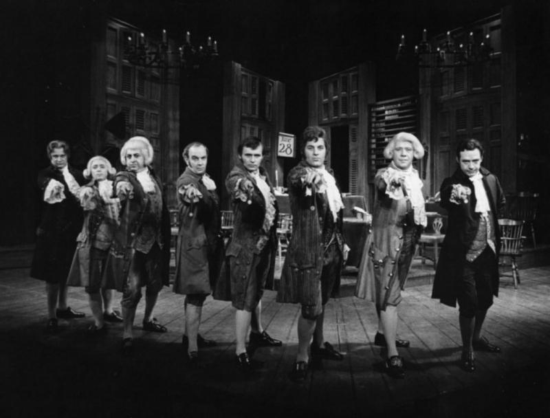 ... role of john adams was actor william daniels daniels at the time made