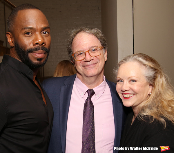 Colman Domingo, Douglas Aibel and Susan Stroman
