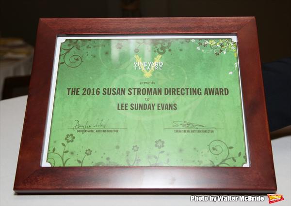 The 2016 Susan Stroman Award