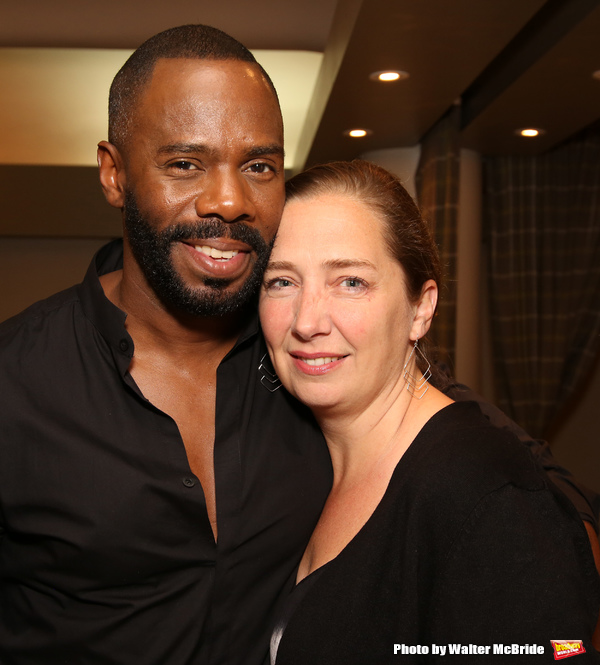 Colman Domingo and Jennifer Garvey-Blackwell  Photo