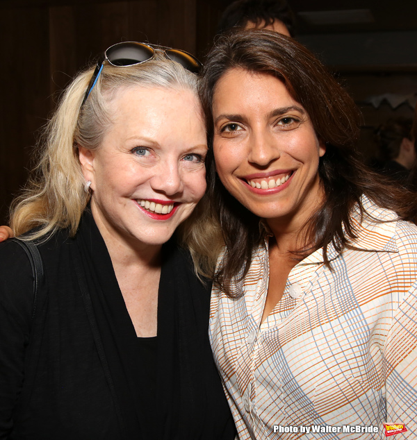 Susan Stroman and Sarah Stern