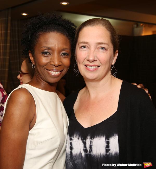Sharon Washington and Jennifer Garvey-Blackwell