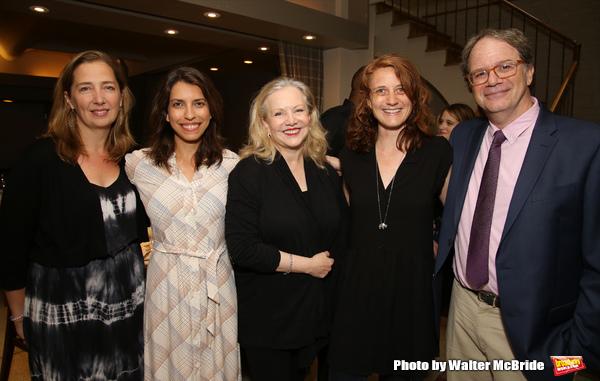 Jennifer Garvey-Blackwell, Sarah Stern, Susan Stroman, Lee Sunday Evans and Douglas Aibel