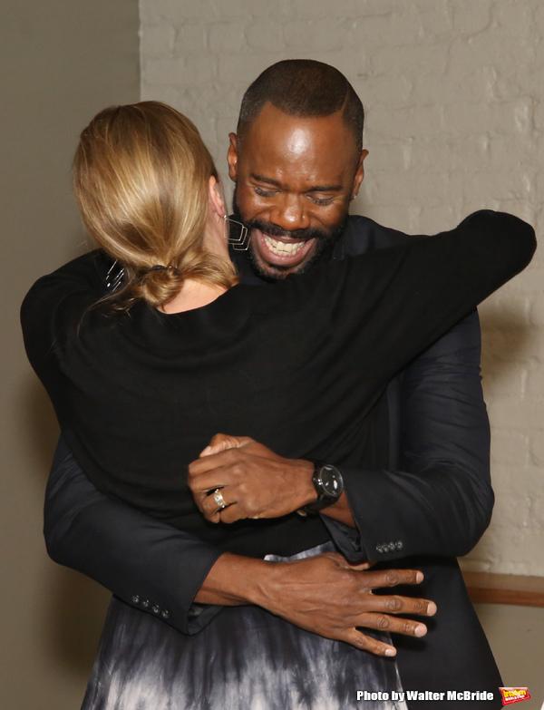 Jennifer Garvey-Blackwell and Colman Domingo