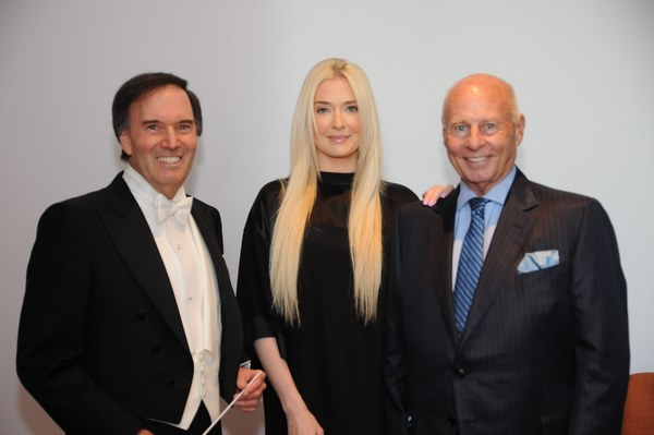 Maestro Greene, singer-actress Erika Jayne Girardi of Real Housewives of Beverly Hills with her husband who is LA Lawyers Phil sponsor and renowned trial attorney Thomas V. Girardi, Esq., of Girardi and Keese.