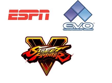 ESPN2 to Present Live Coverage of Street Fighter V World Championship 7/17