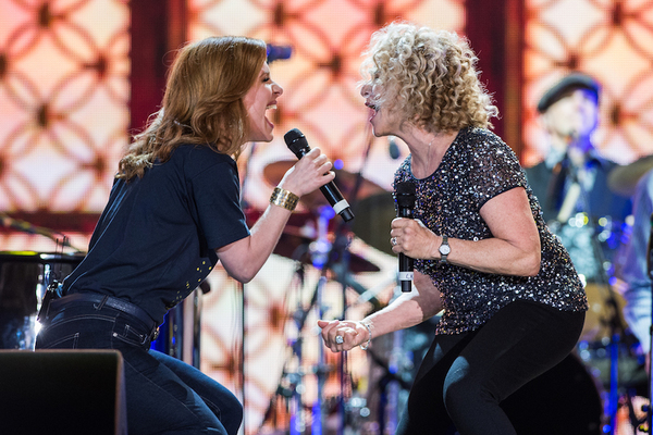 Cassidy Janson and Carole King