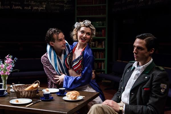 Kit (Joe Eyre), Diana (Florence Roberts) and Alan (Ziggy Heath). Photo Credit: The Other Richard
