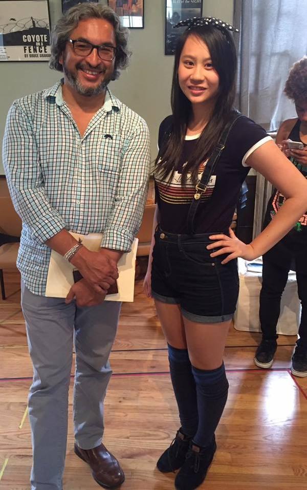 Octavio Solis and Cassandra Hsiao  Photo