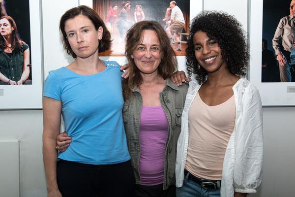 Hannah Cabell, Birgit Huppuch and Danaya Esperanza