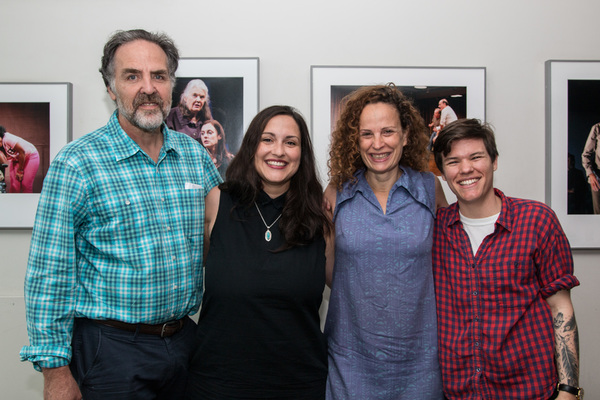 Tim Sanford, Jaclyn Backhaus, Maria Striar and Will Davis
