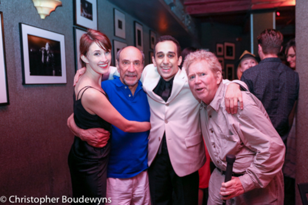 Emily Neufer, F. Murray Abraham, George Abud and John Christopher Jones