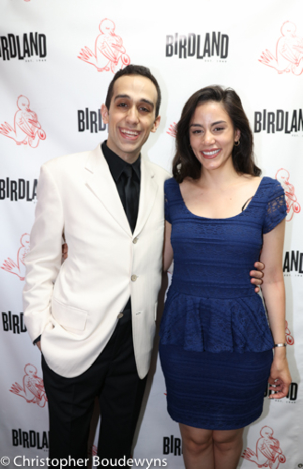 George Abud and Michelle Veintimilla