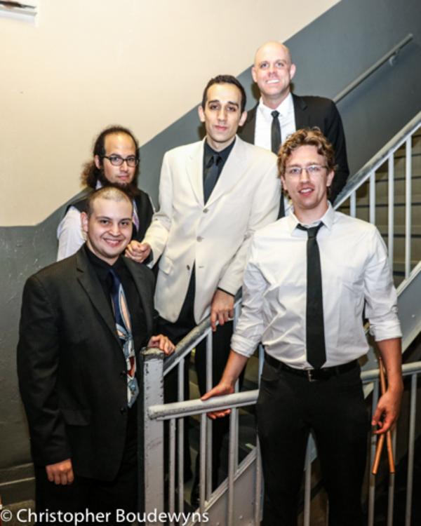 James Abud, Tony Lannen, George Abud, Andrei Strizek and Tristan Marzeski