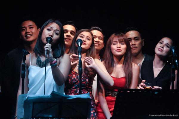 Mikki Villa, Anna Oposa, Nel Gomez, Cheska Ortega, Jay Pangilinan, Hanna Flores, Kevi Photo