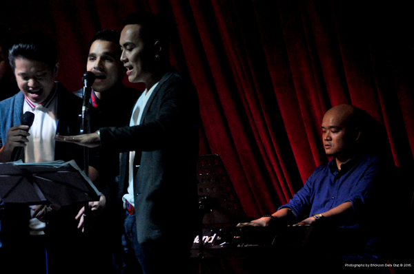 Jay Pangilinan, Nel Gomez, Kevin Concepcion, Ceejay Javier Photo