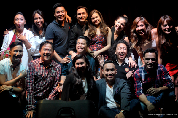 ONE NIGHT STAND Cabaret Reunites HIGH SCHOOL MUSICAL Philippine Cast (with director Audie Gemora).