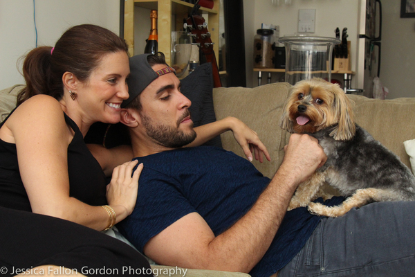 Brace, Suzy and Josh Segarra