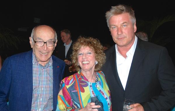 Bob & Joan Rechnitz, Alec Baldwin