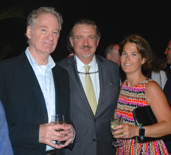 Kevin Kline, Brooks & Kelly Cullen Photo