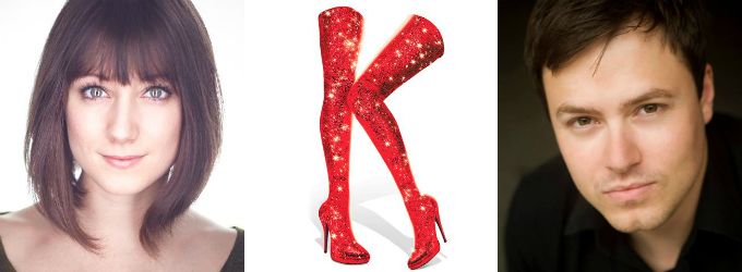 Aaron C. Finley and Shannon O'Boyle to Don KINKY BOOTS This Summer