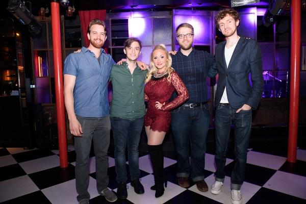 Alexa Green, Andy Rinn Martinek, Daniel Bailen, Dylan Glatthorn and Syberen van Munster