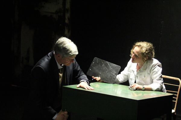 Peter Moore and Caroline Neff