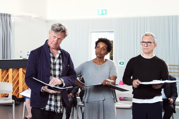 Photo Flash: In Rehearsal with STUFF HAPPENS at the National Theatre