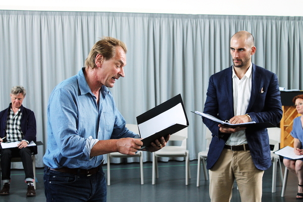 Julian Sands, Tom Colley  Photo
