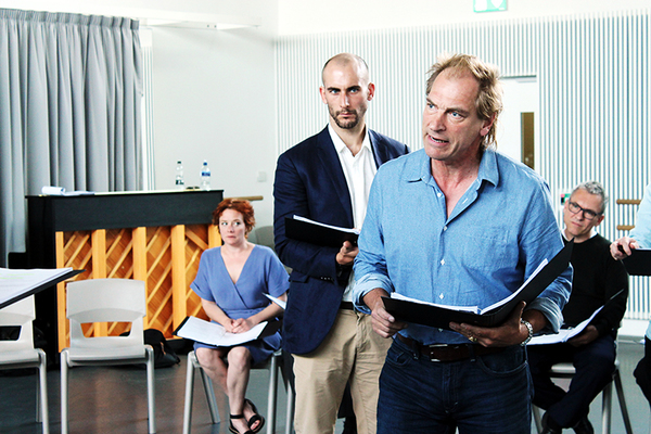 Tom Colley, Julian Sands Photo
