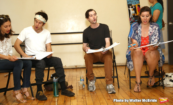 Photo Coverage: Go Inside Rehearsals For FOREST BOY at NYMF!