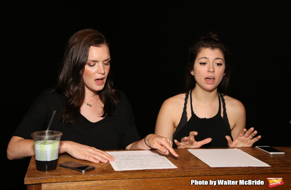 Jennifer Damiano and Krista Pioppi